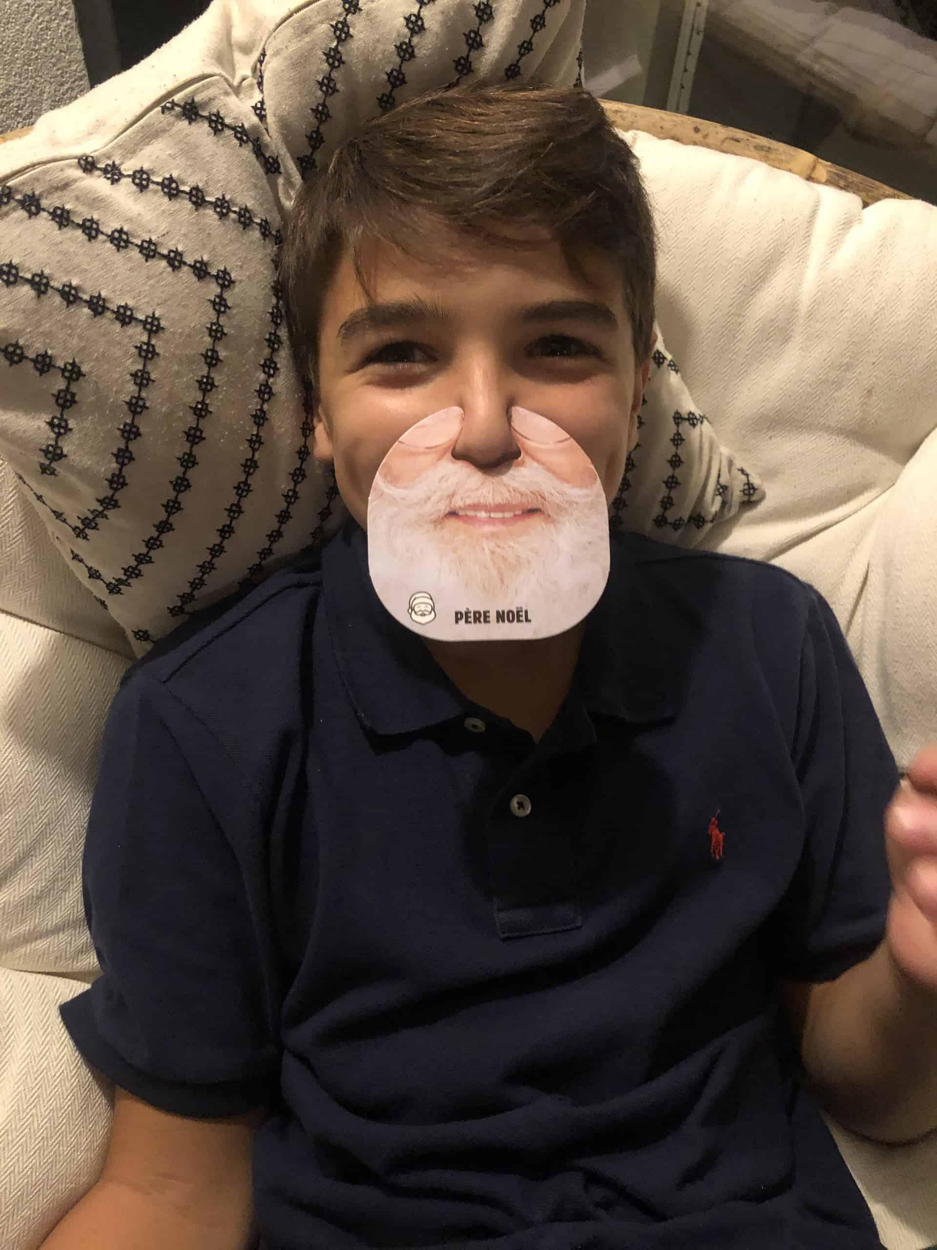 Communauté Quiz My Face Père Noël