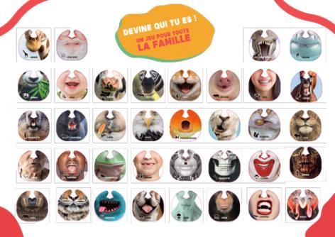 tous les masques de Quiz My Face