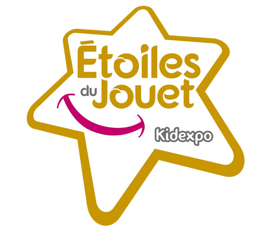 Le logo de l'étoile du jouet