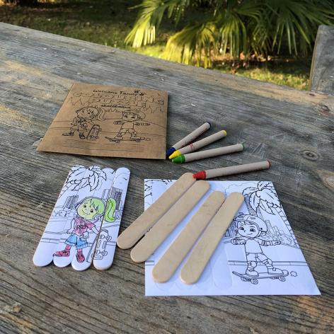 coloring puzzle pour dessiner et faire un puzzle